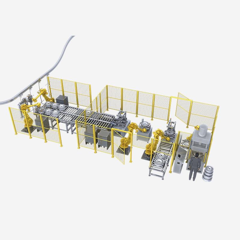 汽车轮毂焊装生产线